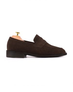Sculpere Brown Suede Loafers